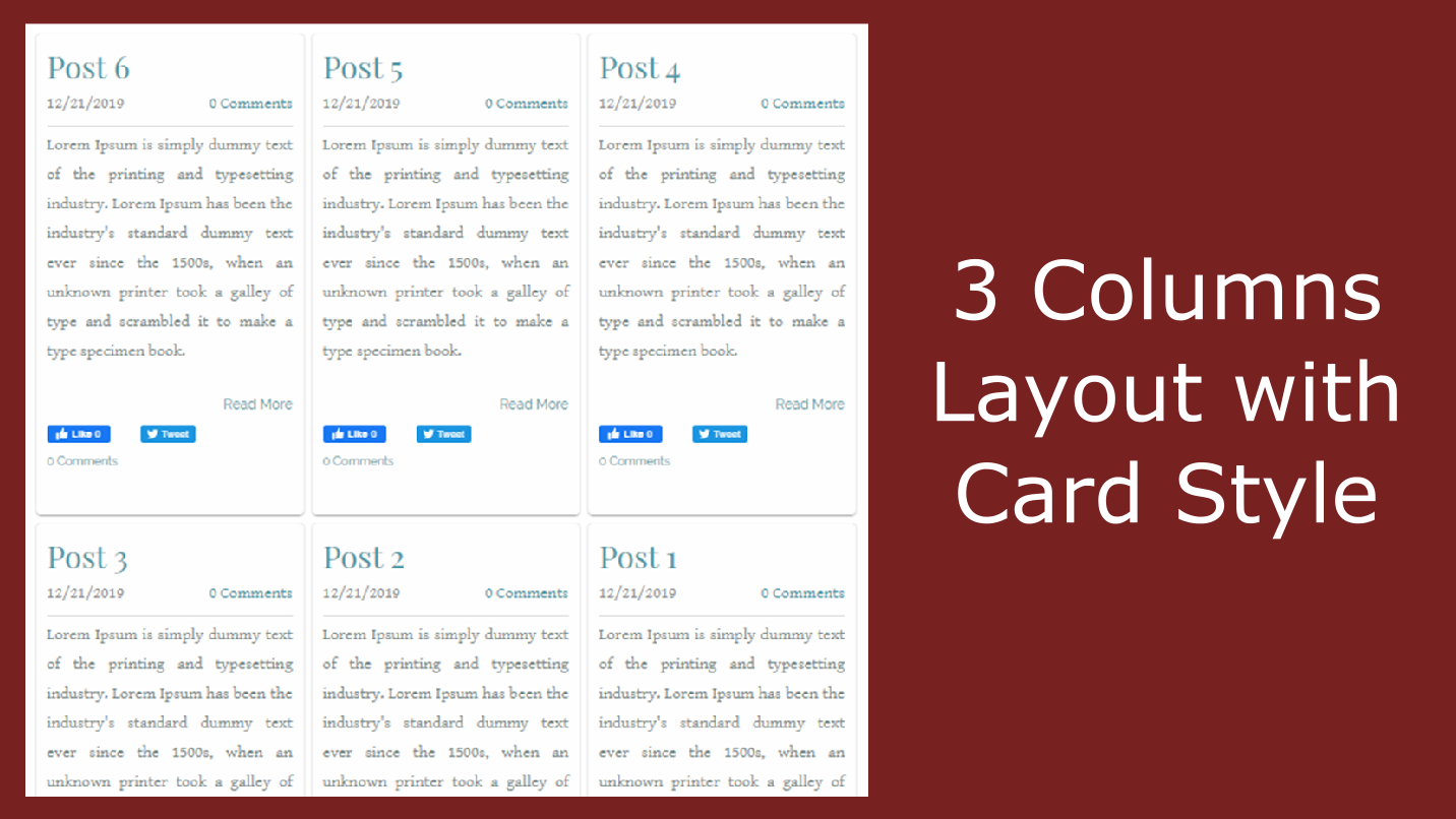 How To Convert Weebly Blog To Multi Column Layout - Weebly App